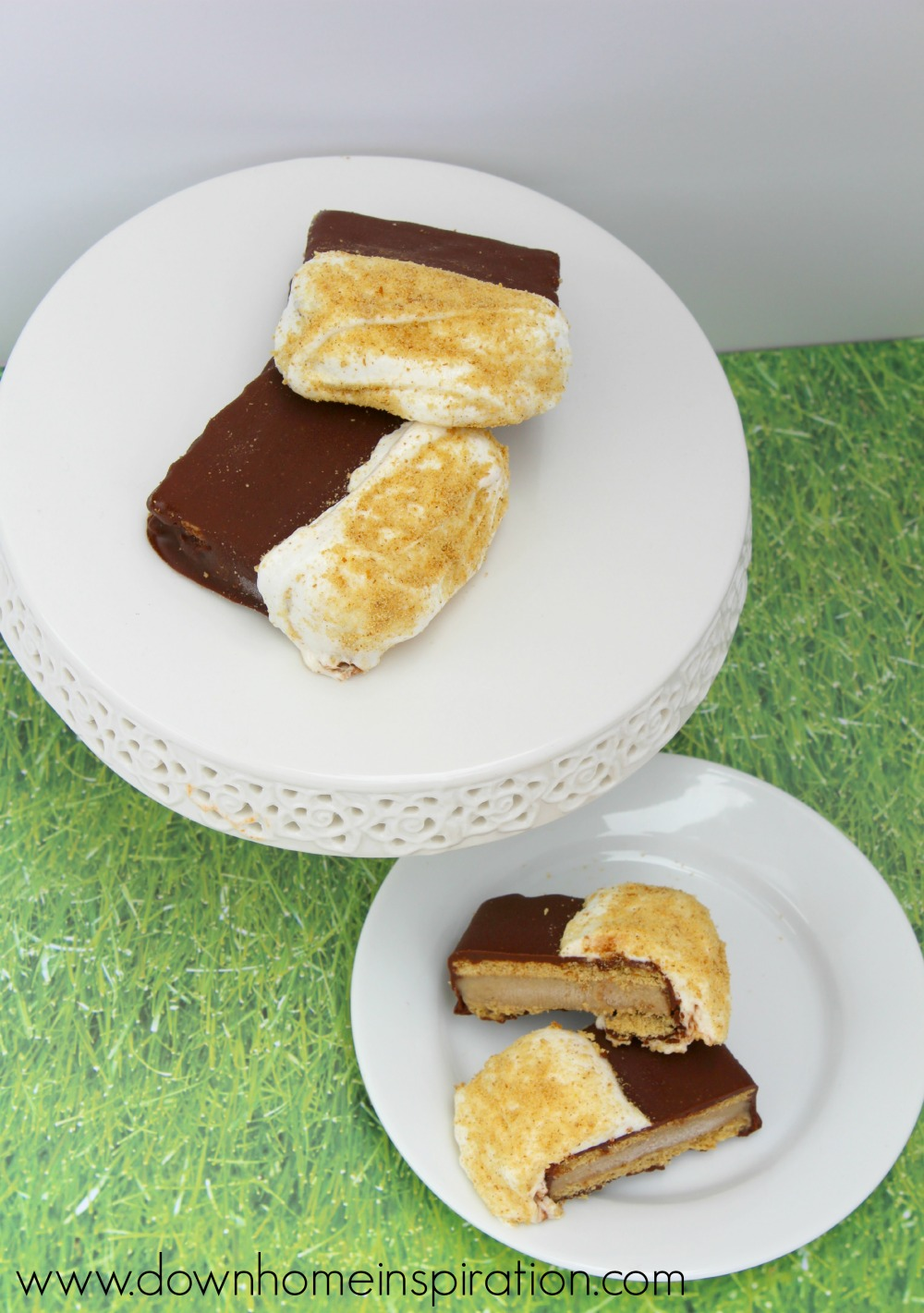 Ice Cream Sandwich with Healthy 2 Ingredient Peanut Butter Banana Ice ...