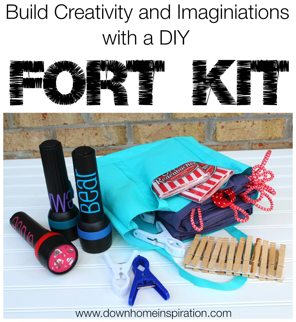 Build A Fun Summer With A Diy Fort Kit Down Home Inspiration