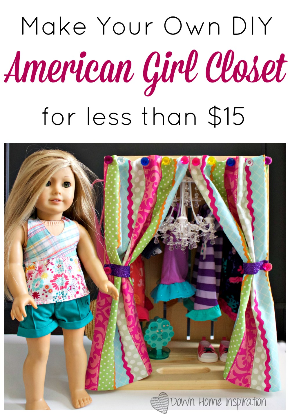Make Your Own Diy American Girl Closet For Less Than 15