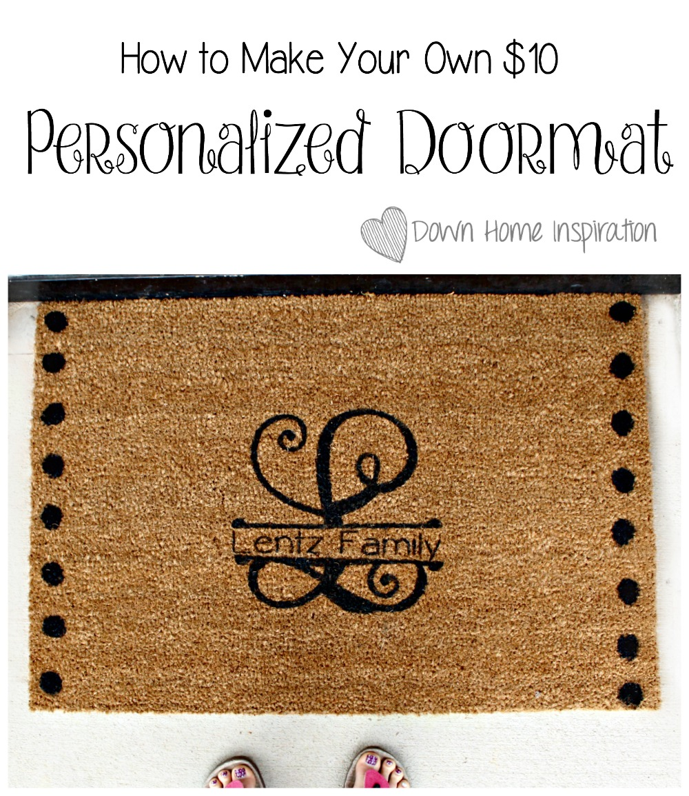 personalized products door img custom letter mat crooked