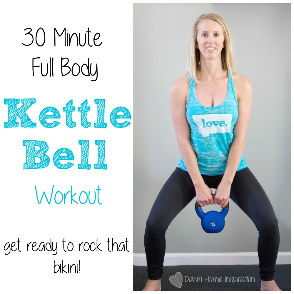 New Kettlebell Exercises For Your Workout Routine: 30 Minute Full Body Kettlebell Workout