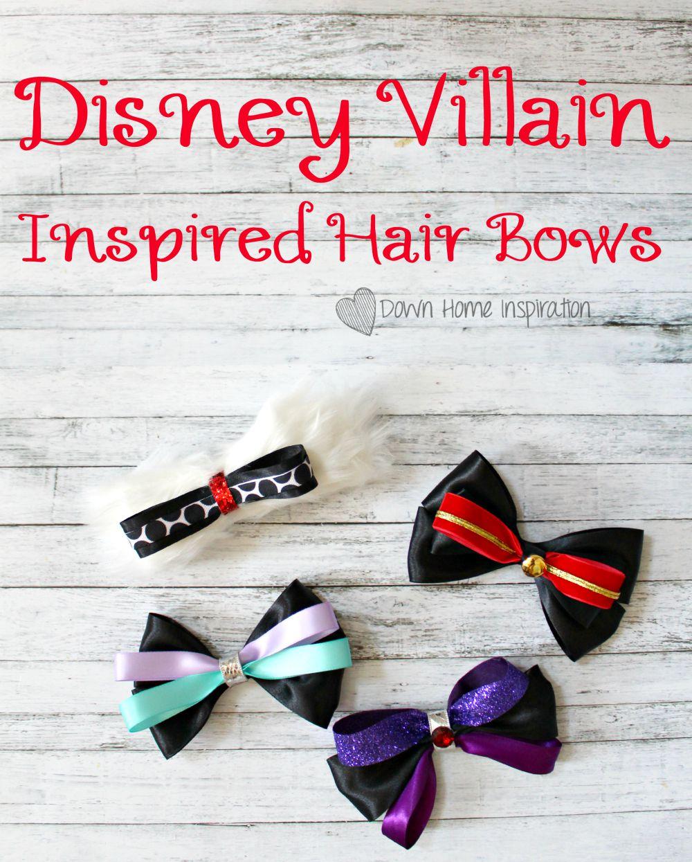 Disney Descendants Hair Bow