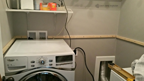 Diy Laundry Room Countertop For Under